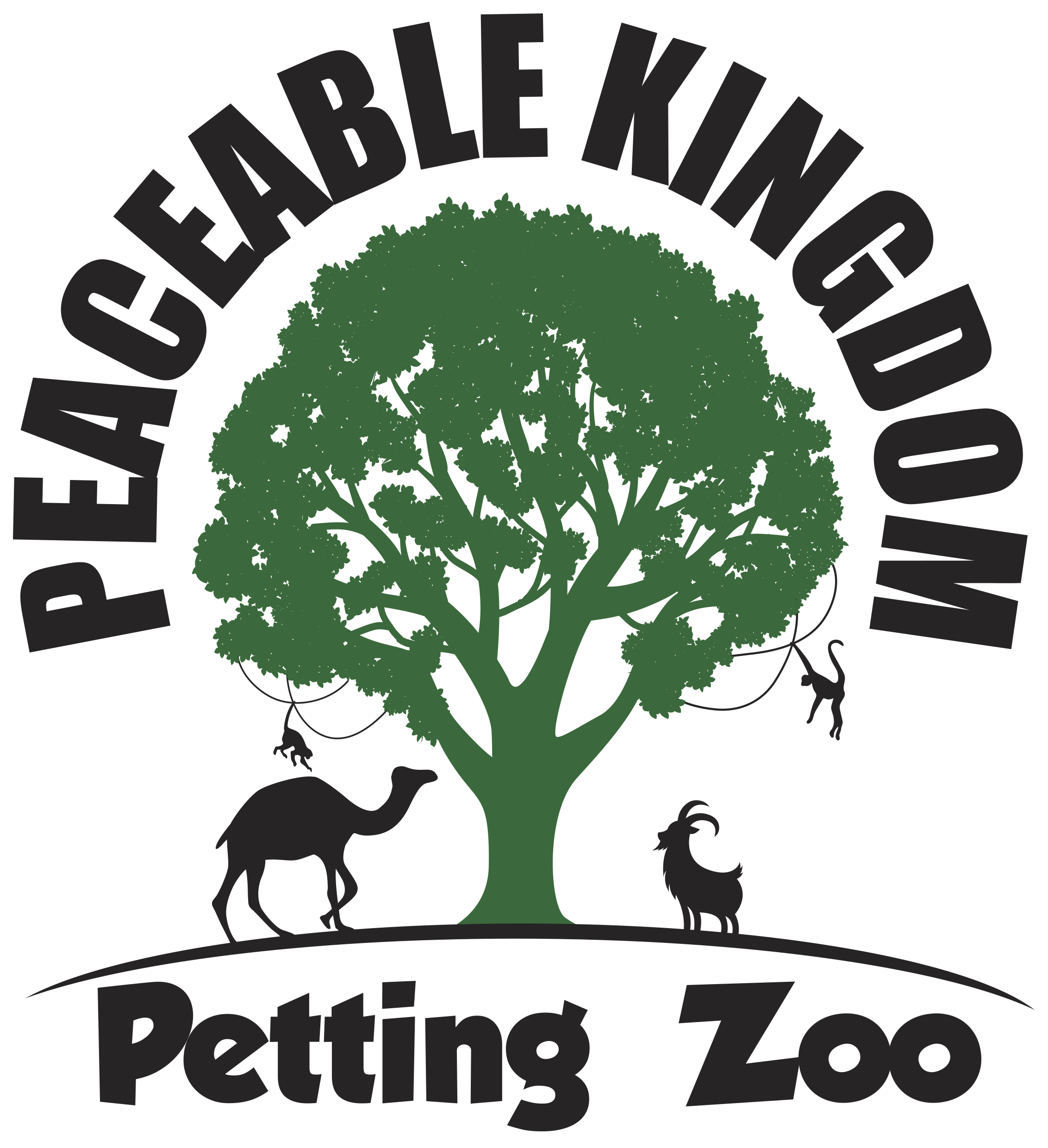 Peaceable Kingdom Petting Zoo